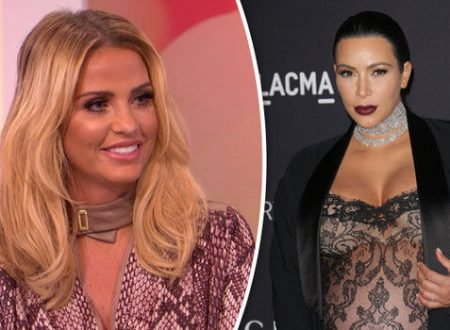 Katie Price replies to Kim Kardashian tweet about Peter Andre from SEVEN YEARS AGO