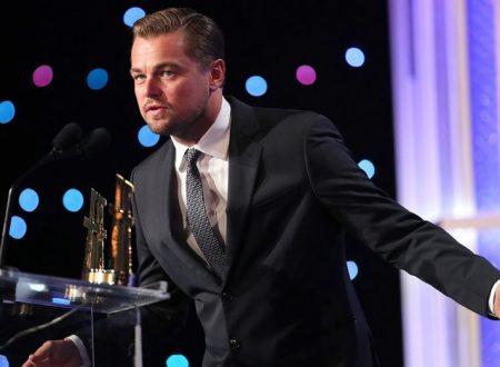 Leonardo DiCaprio, Robert De Niro Get Political at Hollywood Film Awards